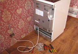 Подключение электроплиты. Новороссийские электрики.