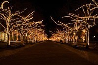 Подключение освещения зданий в Новороссийске