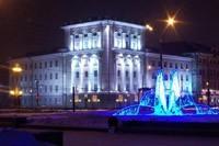 освещение фасадов в Новороссийске